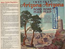 Arizona Map State by Arizona Road Trip Arizona Archivy