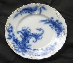 flow blue history and value of blue and white antique china