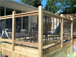 deck railing posts composite u2014 new decoration deck railing posts