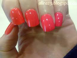 the blahg broadway nails bright neon orange totally busted