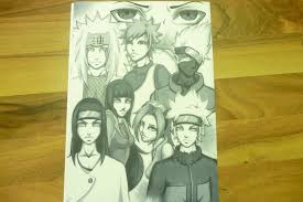 naruto characters part 2 done by anatattoo on deviantart