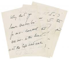 Handwritten Business Letter by Letter Written By Jfk To Purported Paramour A Month Before His