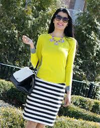 striped pencil skirt dress ala black and yellow striped skirt dress ala