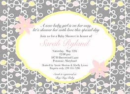 Bridal Shower Greeting Wording Coed Baby Shower Invitation Wording Pink And Yellowa Baby Shower
