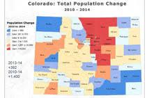 colorado population map about garfield county colorado
