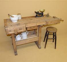 Carpentry Work Bench Carpenter U0027s Workbench R3499 Antiques Atlas