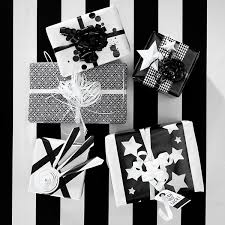White Christmas Wrapping Ideas by Christmas Gift Wrap Ideas From Panuro Hobby Black And White