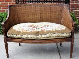 Cushion Settee Furniture Cydneys Antiques Vintage European Imports