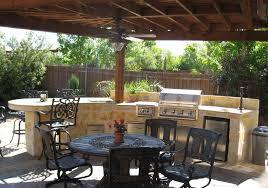 back yard kitchen ideas outdoor kitchens by premier deck and patios san antonio tx