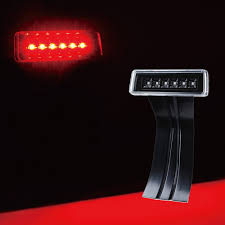jeep wrangler brake light cover 3rd brake light with clear lens for wrangler jk jku xprite
