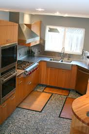 kitchen cabinet with sink astonishing bamboo kitchen cabinets with dark brown color kitchen
