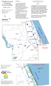 Palm Bay Florida Map by County Screening Maps Florida Department Of Health