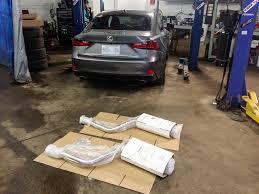 lexus is350 joez pts joe z series full exhaust u2022 production version install for