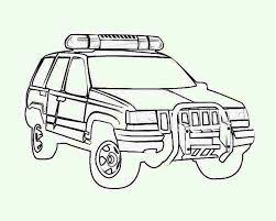 4wd police car coloring page 4wd police car coloring page u2013 color