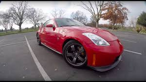 red nissan 350z modified 2007 nissan 350z nismo review youtube