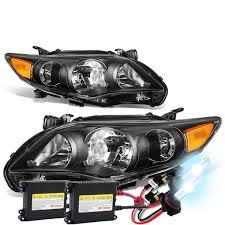 2011 toyota corolla brake light bulb hid xenon 2011 13 toyota corolla sedan pair of headlight corner