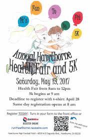annual hawthorne health fair and 5k u2014 hawthorne california