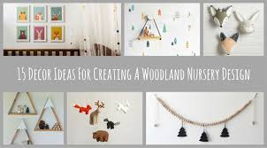 Decor Nursery 15 Decor Ideas For Creating A Woodland Nursery Design Contemporist