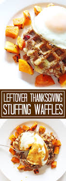 leftover thanksgiving waffles if you give a a kitchen