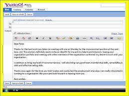 tutorials write thank you letter after an interview sample post interview thank you letter