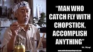 Mr Miyagi Meme - 20 mr miyagi inspirational quotes for wisdom motivate amaze be