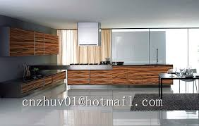 Wood Grain Laminate Cabinets Modern Kitchen Cabinet Design Wood Grain Pattern High Gloss Uv