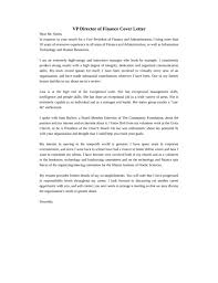 Exceptional Cover Letter Finance Volunteer Cover Letter