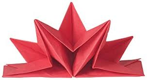 now designs origami paper napkins home kitchen