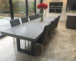 3 Metre Dining Table 3 Metre Polished Concrete Dining Table