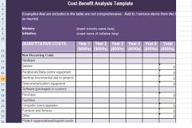 Excel Costing Template Get Cost Benefit Analysis Template In Excel Excel Project