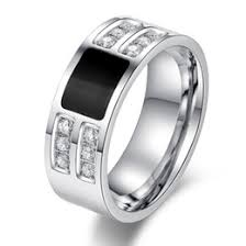 mens rings uk shop mens stainless steel cz rings uk mens stainless steel cz