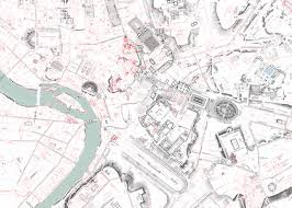 University Of Oregon Map by This Enormous 100 Year Old Map Of Rome Is Still The City U0027s Best