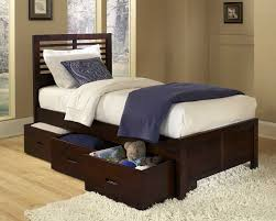 Twin Bed With Storage Kids Twin Bed Frames With Storage U2014 Modern Storage Twin Bed Design