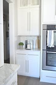 modern white kitchen backsplash kitchen tour zdesign at home