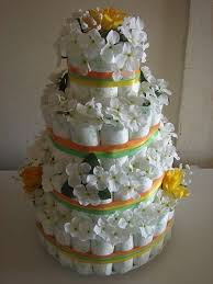 79 Best Diaper Cake Ideas Images On Pinterest Tarts Baby Shower