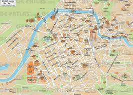 Spain Map Cities by Bilbao Map