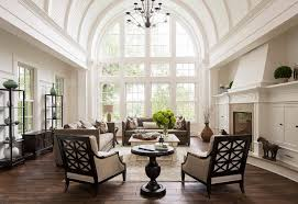 traditional livingroom traditional living room with barrel ceiling home bunch