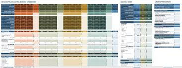 Financial Spreadsheet All The Best Business Budget Templates Smartsheet
