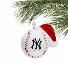 new york yankees navy blue shatter proof snowflake ornament