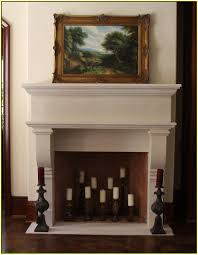 candle fireplace inserts home design