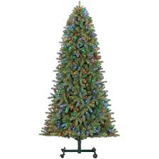 d27 9 ft pre lit emerson grow stow tree at home at
