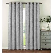 silver grommet curtains u0026 drapes window treatments the