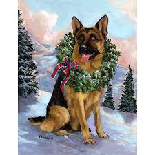 shop precious pet paintings 1 5 ft x 1 04 ft german shepherd precious pet paintings 1 5 ft x 1 04 ft german shepherd christmas flag
