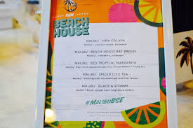 malibu rum x refinery29 chicago beach house party the fat