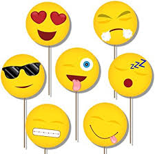 photobooth props emoji photo booth props kit 20 pack party