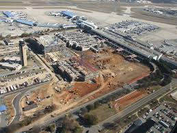 Charlotte Nc Airport Map New Hourly Deck