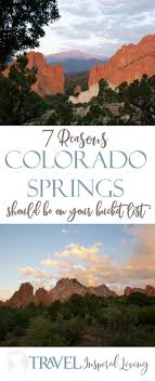 Colorado Book Travel images 7 reasons colorado springs should be on your bucket list jpg