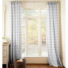 two panel gray chevron curtain best curtains design 2016