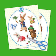 peter rabbit birthday party goody bag stickers nickelodeon parents