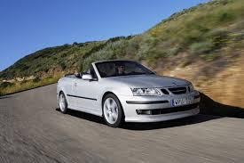 mitsubishi convertible 2003 saab 9 3 convertible review 2003 2011 parkers